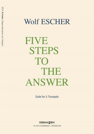 Escher Wolf: 5 Steps To The Answer Suite Fuer 5 Trp