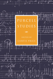 Henry Purcell: Purcell Studies