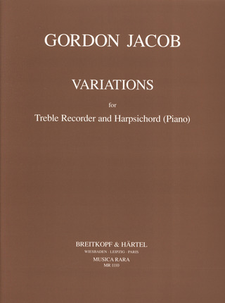 Gordon Jacob: Variations