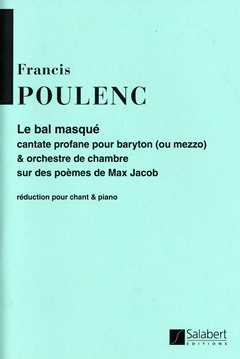 Francis Poulenc: Bal Masque Chant / Piano