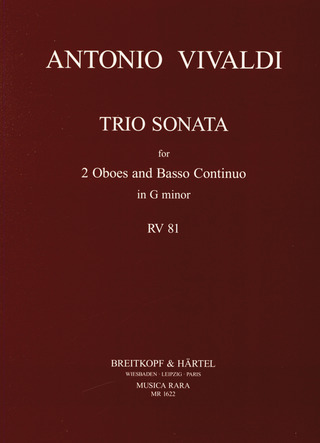 Antonio Vivaldi: Triosonate in g RV 81