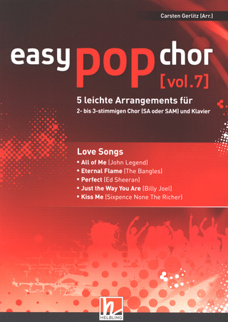 easy pop chor 7: Love Songs