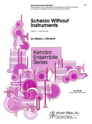 Schinstine William J.: Scherzo Without Instruments