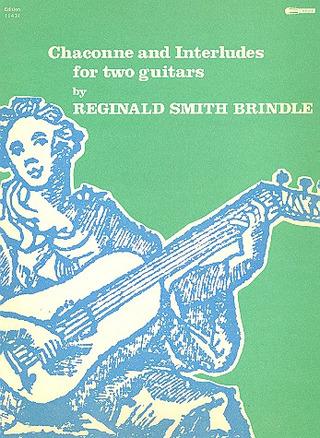 Etruscan Preludes ED 11458 Reginald.; guitar sheet music; Smith Brindle