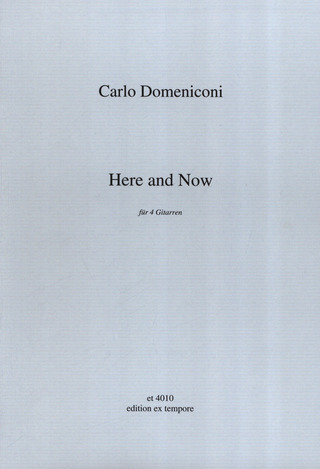 Carlo Domeniconi: Here and Now