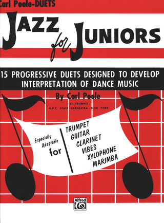 Poole Carl: Jazz For Juniors - 15 Progressive Duets