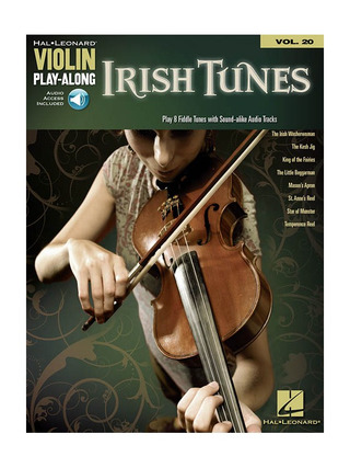 Violin Play-Along 20: Irish Tunes
