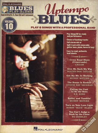 Blues Play-Along Vol. 10: Uptempo Blues