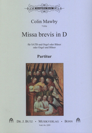 Colin Mawby: Missa brevis in D