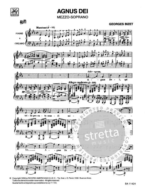 Agnus Dei Lieder