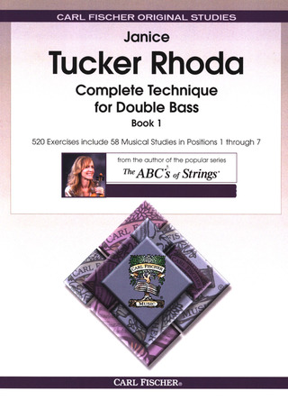 Janice Tucker Rhoda: Complete Technique for Double Bass Book 1