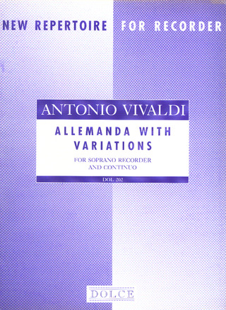 Antonio Vivaldi: Allemanda With Variations