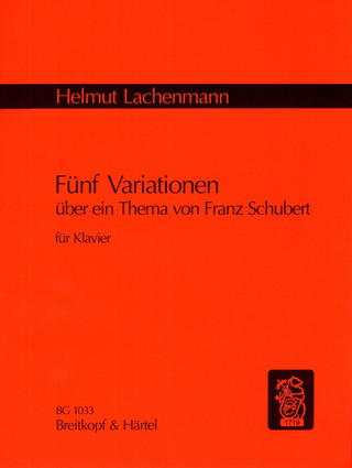 Helmut Lachenmann: Five Variations