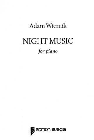 Wiernik Adam: Night Music