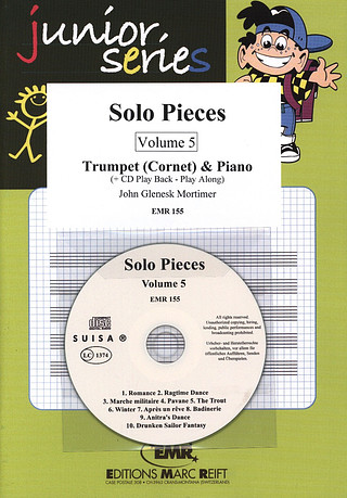 John Glenesk Mortimer: Solo Pieces Vol. 5 + CD