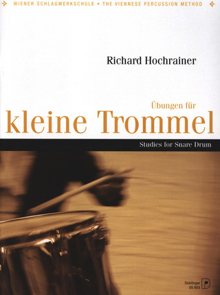 Richard Hochrainer: Studies for Snare Drum