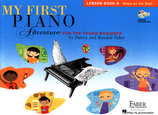 Randall Faber et al.: My First Piano Adventure – Lesson Book B