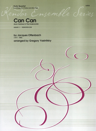 Jacques Offenbach: Can Can (Aus Orpheus In Der Unterwelt)