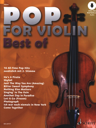 Pop for Violin – Best of