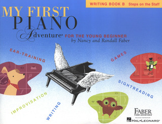 Randall Faber et al.: My First Piano Adventure – Writing Book B