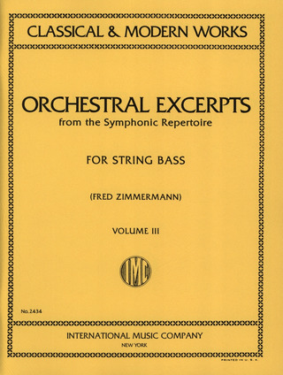 Orchestral Excerpts 3