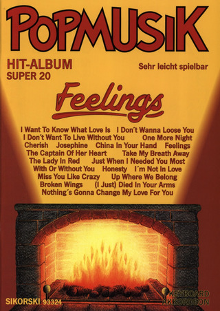 Popmusik Hit-Album Super 20: Feelings