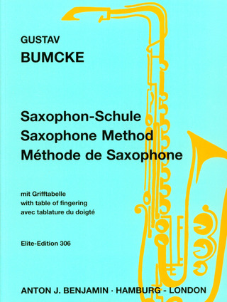 Gustav Bumcke: Saxophone Method