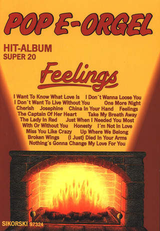 Pop E-Orgel Hit-Album Super 20: Feelings