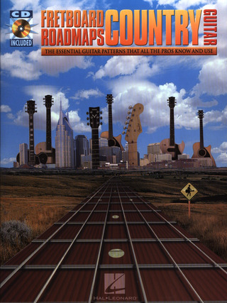 Fred Sokolow: Fretboard Roadmaps Country Bk/Cd