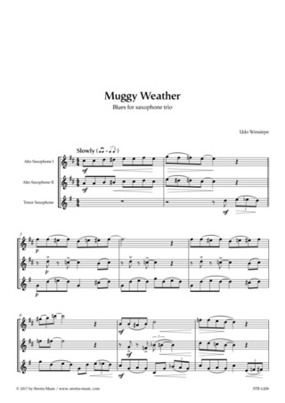 Udo Wessiepe: Muggy Weather