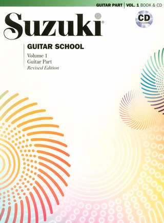 Shin'ichi Suzuki: Suzuki Guitar School Volume 1 Revised Edition Guitar Book/Cd
