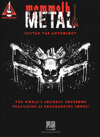 Mammoth Metal Guitar Tab Anthology