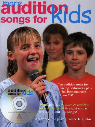 More Audition Songs For Kids Pvg Bk/Cd