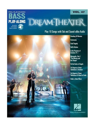Dream Theater: Bass Play-Along Volume 47: Dream Theater (Book/Online Audio)