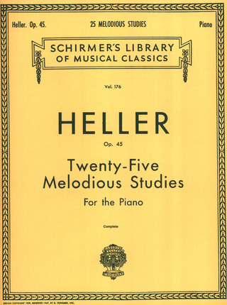 Stephen Heller: 25 Melodious Studies Op 45 Complete