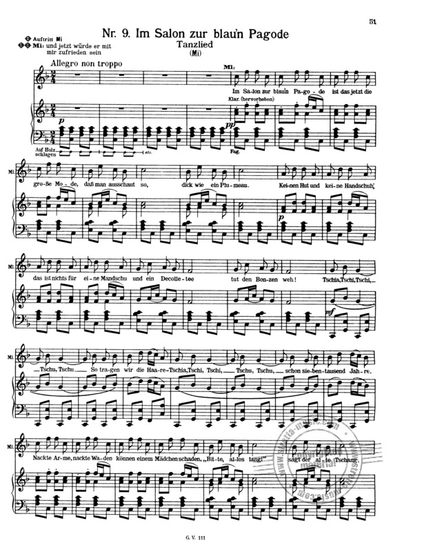 das land des lächelns from franz lehár   buy now in the stretta sheet music  shop  stretta music