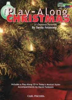 Sandy Feldstein: Playalong Christmas - Viola