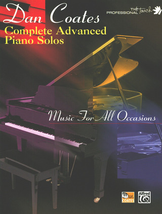 Coates, Dan: Complete Advanced Piano Solos