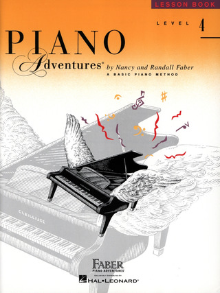 Randall Faber et al.: Piano Adventures 4 – Lesson