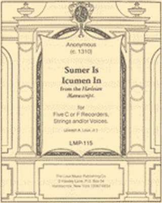 Anonymus: Sumer Is Icumen In
