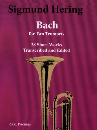 Sigmund Hering: Bach For 2 Trumpets