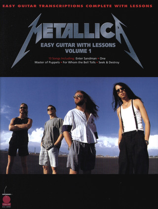 Metallica: Easy Guitar With Lessons 1