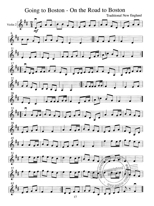 American Fiddle Tunes for Solo and Ensemble (4)