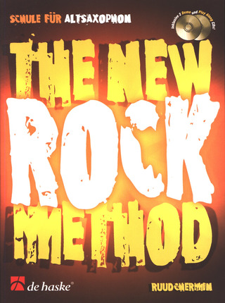 Chermin Ruud: The New Rock Method - Schule Fuer Altsaxophon