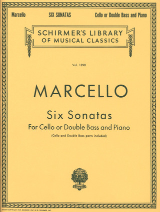Benedetto Marcello: Six Sonatas