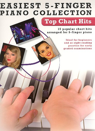 Easiest 5-Finger Piano Collection: Top Chart Hits
