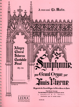 Louis Vierne: Symphonie pour grand orgue No. 2