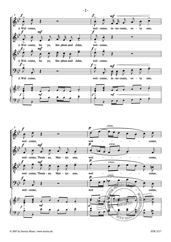 Hubert Parry: Welcome, Yule! (1)