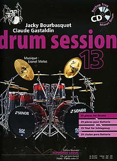 Jacky Bourbasquet y otros.: Drum Session 13