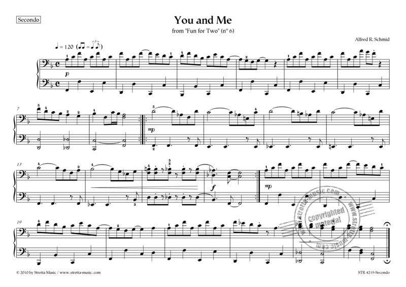 Alfred R. Schmid: You and Me (1)